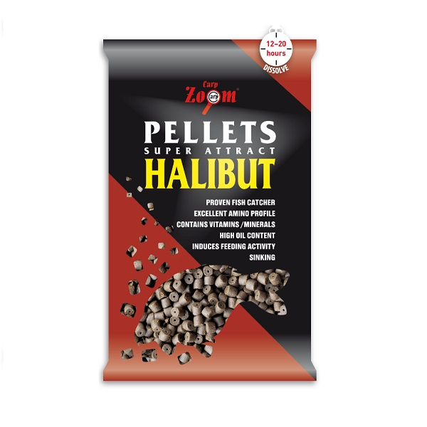 fúrt halibut pellet 20mm 800g