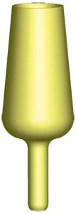 Univerzális világító patrontartó 4,5 mm-es