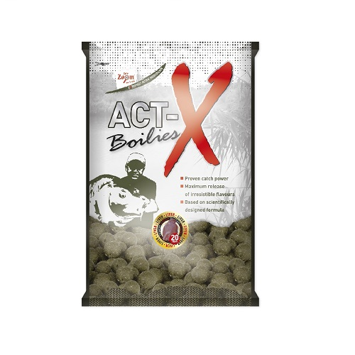 Act-X Boilies, 16mm, 800g, strawberry (eper)