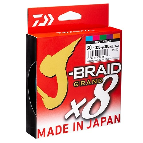 J-Braid Grand 0.20mm/135m Gray-Light - fonottzsinór