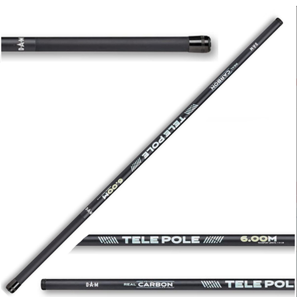 Real carbon tele pole 5,00m spiccbot