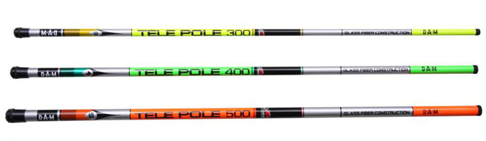 Tele Pole-Glass Fiber spicc bot - 3m