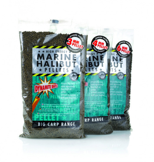 Marine Halibut fúrt pellet - 21mm (900gr)