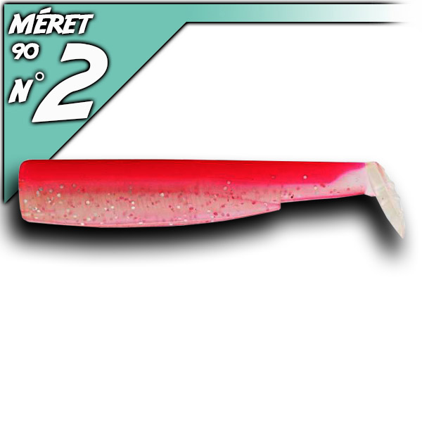 3db test a 90-as Black Minnow-hoz - Fluo Pink