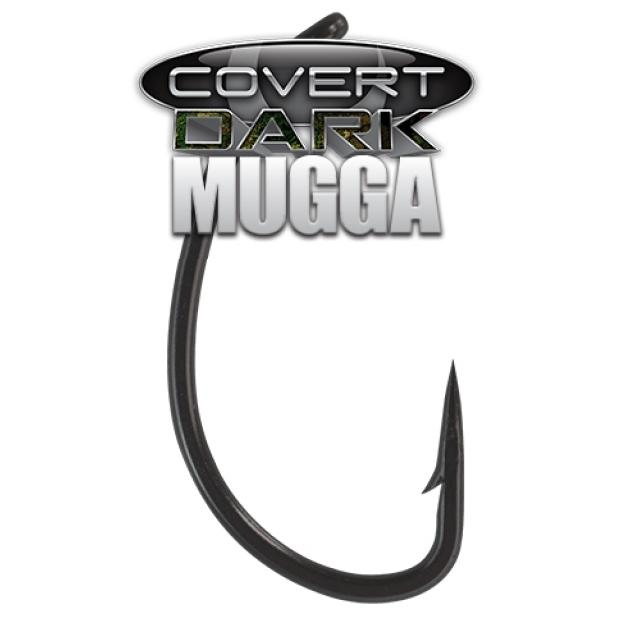 Mugga Dark Covert bojlis horog 8-as