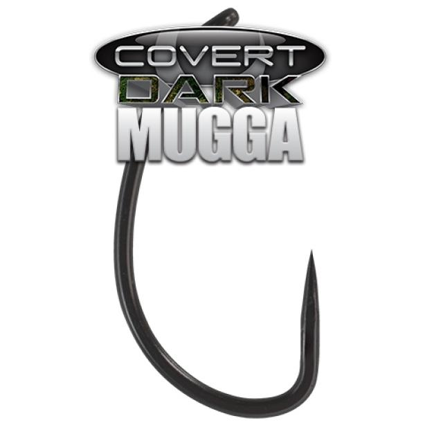 Dark Covert Mugga Barbless horog 8-as