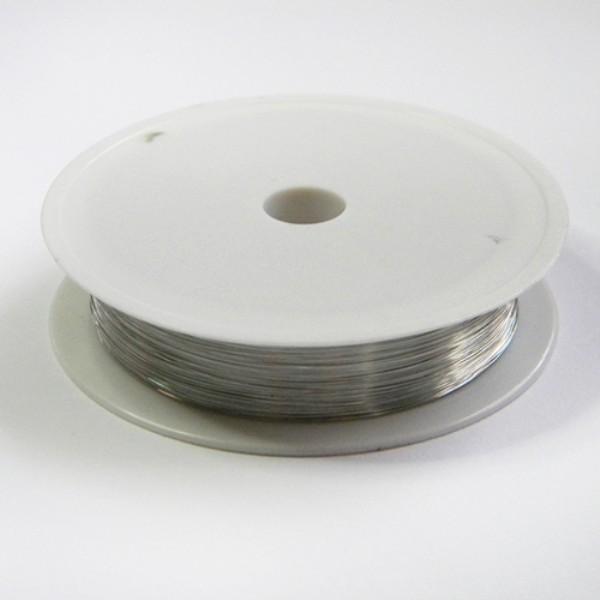 natúr színű gyöngyfűzőzsinór 0,25mm (50m)