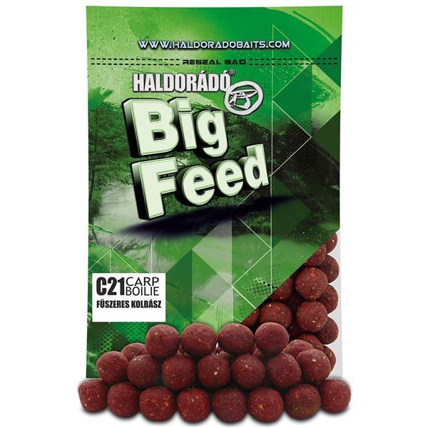Big Feed - C21 Boilie - Fűszeres Kolbász 800 g