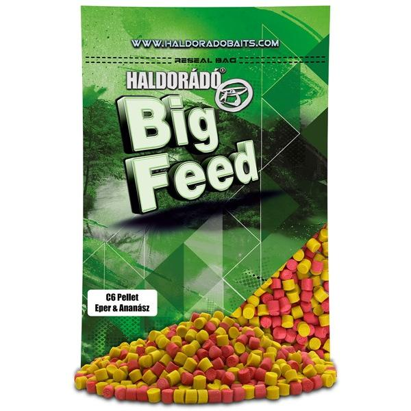 Big Feed - C6 Pellet - Eper & Ananász 900 g