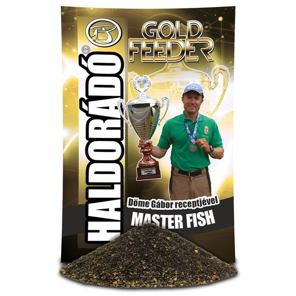 Gold Feeder - Master Fish 1kg etetőanyag