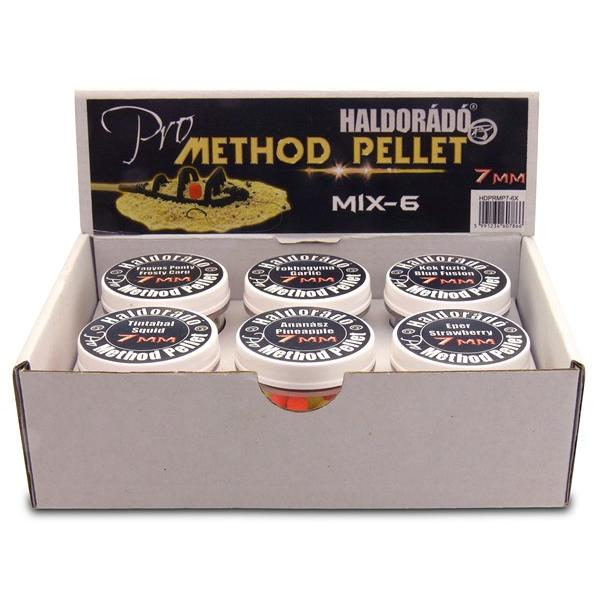 Pro Method Pellet 7 mm - MIX-6 / 6 íz egy szettben
