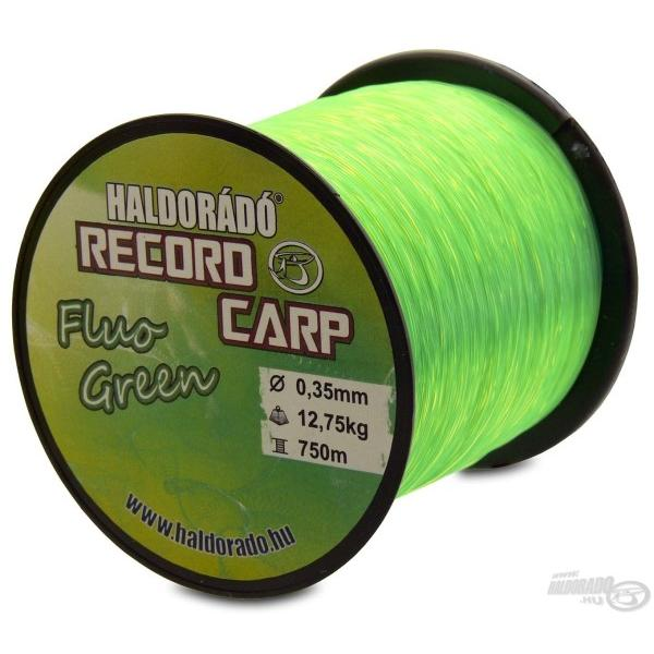 Record Carp Fluo Green 0,30 mm / 800 m / 10,85 kg
