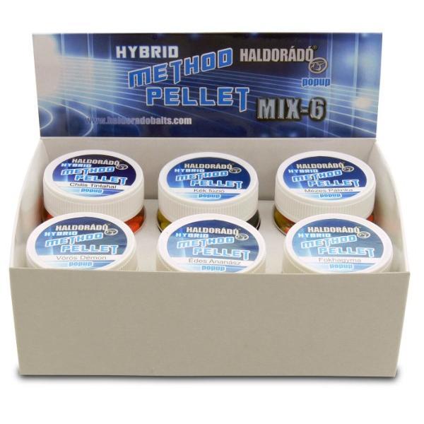 Hybrid method pellet - mix mind a 6 ízzel