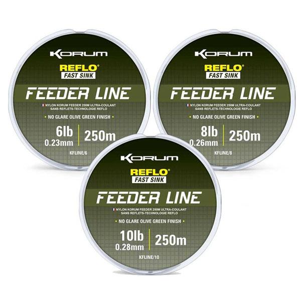 Feeder Line 250m/0,26mm/8lb/4kg