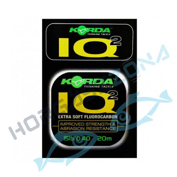 IQ Extra Soft Fluorocarbon Hooklink 20lb