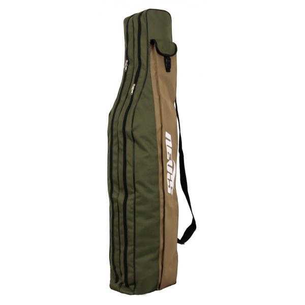Bottartó táska zöld 1,2m 2 rekeszes