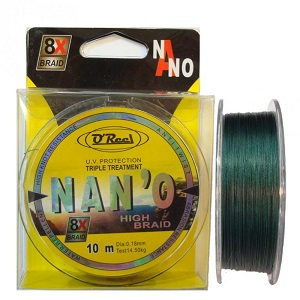 NAN'O High Braid 0,16mm/10m