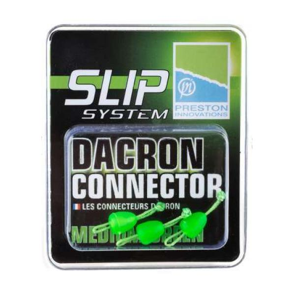 Medium Dacron Connector - Medium Green