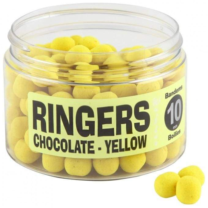 Chocolate Yellow Wafters - 10mm