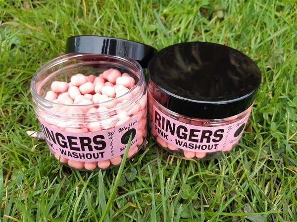 Washout Pink Wafters - 6mm