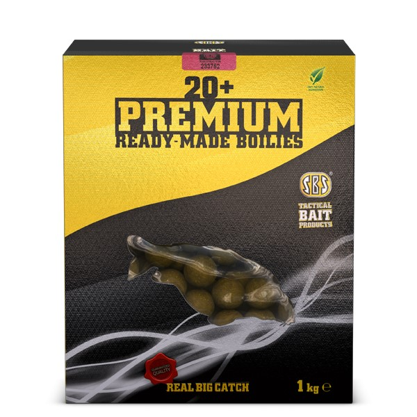 20+ Premium Ready-Made Boilies 20mm / M1 5kg