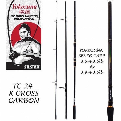 Yokozuna Senso Carp 3,9m/3,5Lbs 3részes