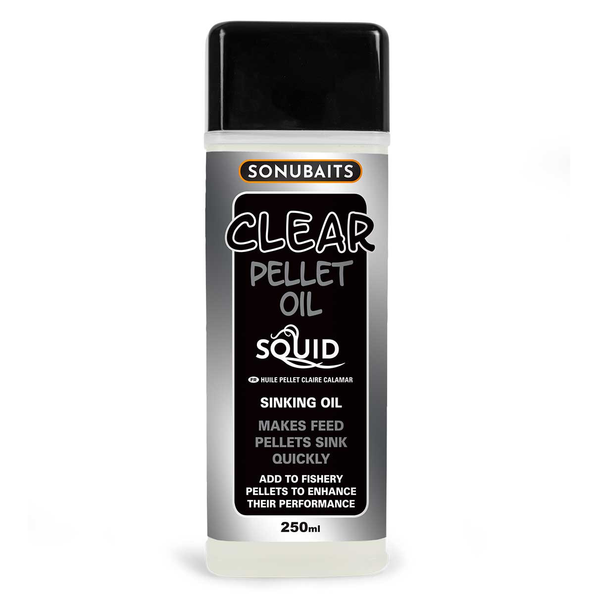Clear Pellet Oil - Squid (tintahal)