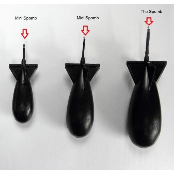 Spomb mini - fekete színű