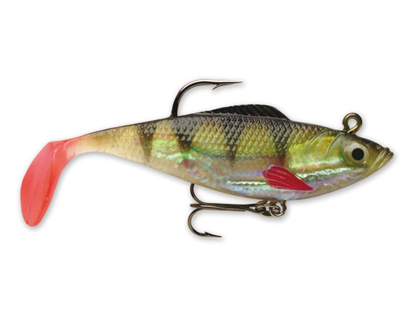 Wildeye Rippin Shad - 10cm-20gr / Perch