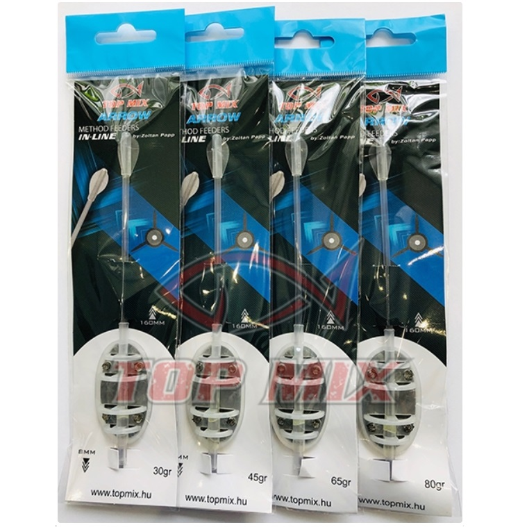 Arrow inline távdobó method feeder kosár 30gr L-es