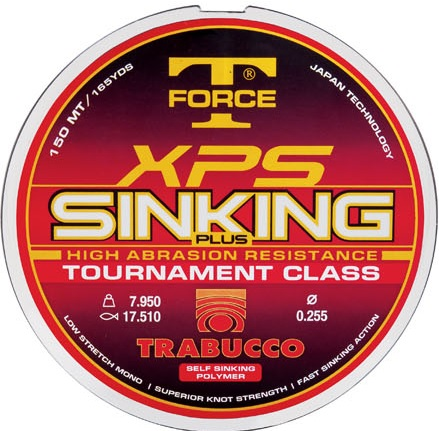T-Force XPS Sinking Plus 150m 0,14mm zsinór