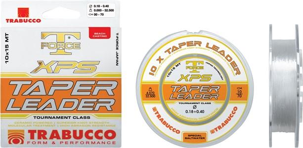 T-FORCE XPS TAPER LEADER 0,57mm-0,23mm