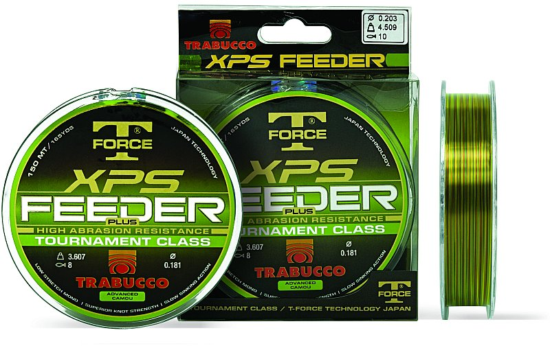 T-FORCE XPS FEEDER PLUS 150m 0,18mm zsinór